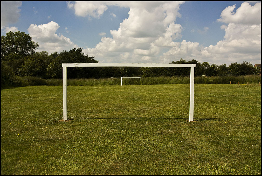 goal posts.